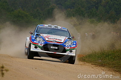 WRC 2011 Rally D Italia Sardegna - TURAN Editorial Photography