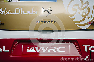 WRC Championship preparation in Strasbourg Editorial Image
