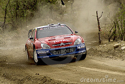 WRC CORONA RALLY MEXICO 2005 Editorial Image