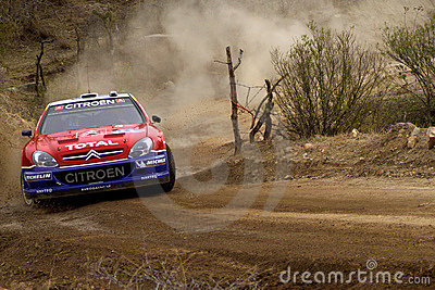 WRC CORONA RALLY MEXICO 2005 Editorial Photography