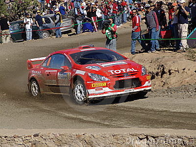 WRC CORONA RALLY MEXICO 2005 Editorial Stock Photo