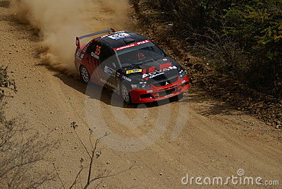 WRC CORONA RALLY MEXICO 2007 Editorial Image
