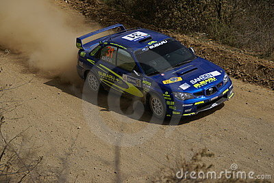 WRC CORONA RALLY MEXICO 2007 Editorial Photography