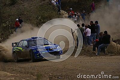 WRC CORONA RALLY MEXICO 2007 Editorial Photography