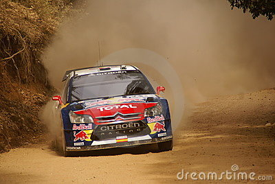 WRC Corona Rally Mexico 2010 Dani Sordo Editorial Image