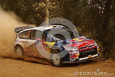 WRC Corona Rally Mexico 2010 Dani Sordo Editorial Stock Photo