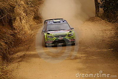 WRC Corona Rally Mexico 2010 LATVALA Editorial Image