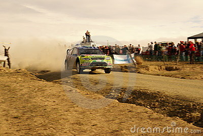 WRC Corona Rally Mexico 2010 LATVALA Editorial Photo