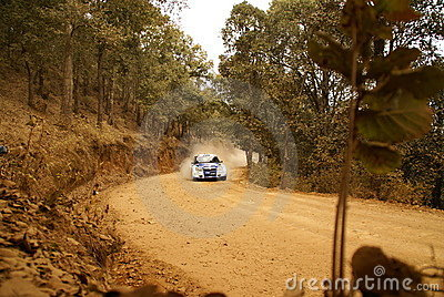 WRC Corona Rally Mexico 2010 Nasser AL-ATTIYAH Editorial Photo