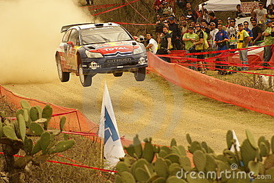 WRC Corona Rally Mexico 2010 Sébastien OGIER Editorial Photography