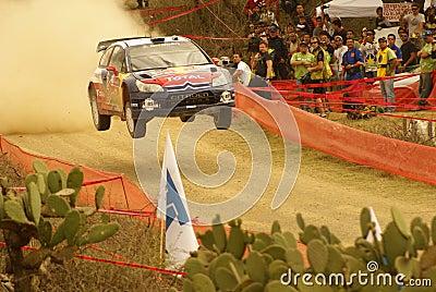 WRC Corona Rally Mexico 2010 Sébastien OGIER Editorial Photography