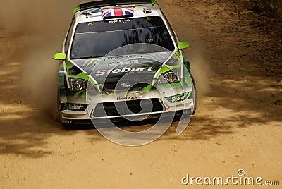 WRC Corona Rally Mexico 2010 WILSON Editorial Photo