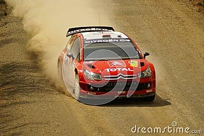WRC Corona Rally Mexico Editorial Stock Image
