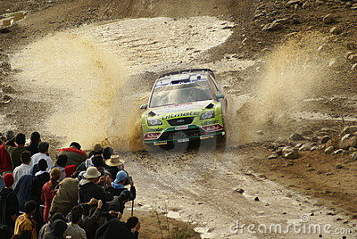 WRC Corona Rally Mexico Editorial Stock Photo