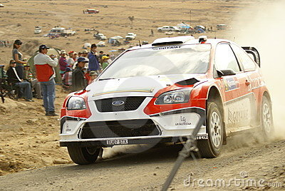 WRC Corona Rally Mexico Editorial Image