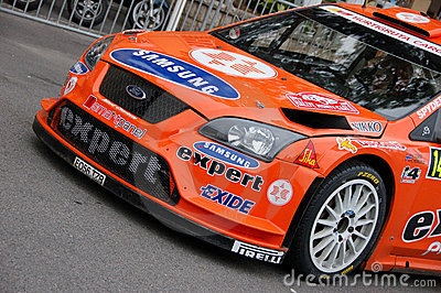 Wrc ford focus Editorial Stock Photo