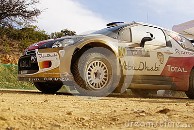 WRC Rally Guanajuato Mexico 2013 Editorial Photography