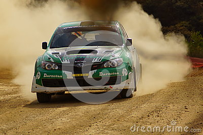 WRC Rally Guanajuato Mexico 2013 Editorial Stock Photo