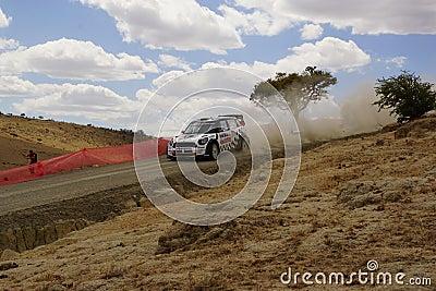 WRC Rally Guanajuato Mexico 2013 Editorial Image