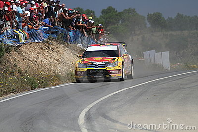WRC Rally Portugal Editorial Image