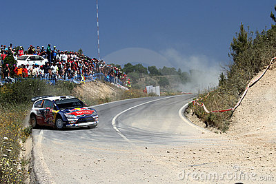 WRC Rally Portugal Editorial Stock Photo