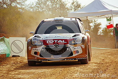 De Verzameling Mexico 2010 Mikko Hirvonen van de Corona WRC Redactionele Foto