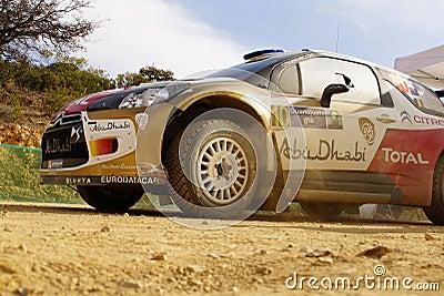 WRC Zlotny Guanajuato Meksyk 2013 Fotografia Editorial