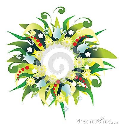 Wreath holiday