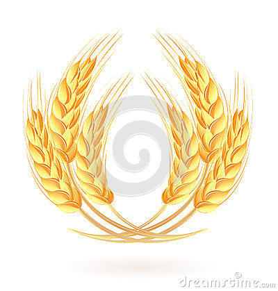 Free Wreath Of Wheat Ears Stock Photos - 26199383