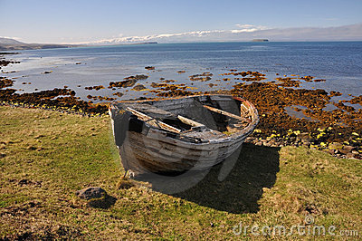 Wreck of Fishing boat, Iceland