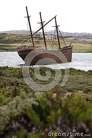 Wreck of the Lady Elizabeth - Falklands
