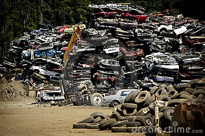 Wreck yard