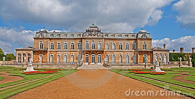 Wrest Park Stately Home, England