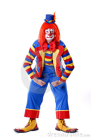 Wrestling Circus Clown