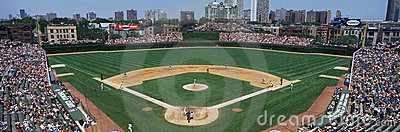 Wrigley Field Editorial Stock Image
