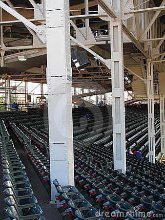 Wrigley Field - Chicago Cubs Editorial Photography