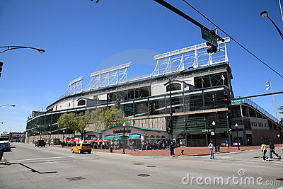 Wrigley Field - Chicago Cubs Editorial Stock Image