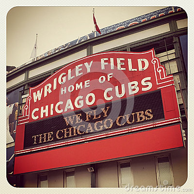 Wrigley Field Editorial Photo