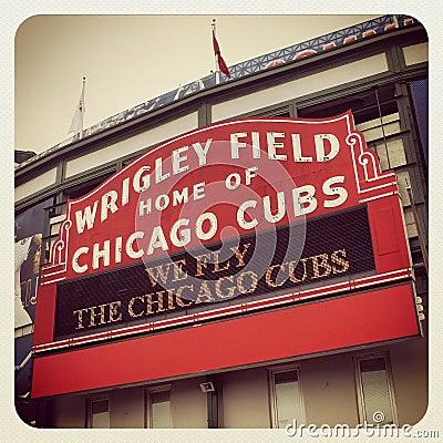 Wrigley Field Editorial Photo