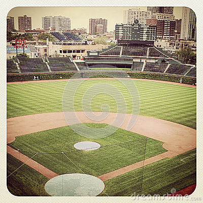 Wrigley Field Editorial Image