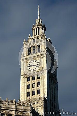 Wrigley s Building Tower Clock
