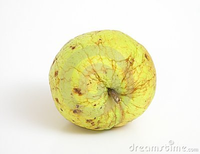 Wrinkled apple Stock Photo