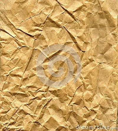 Free Wrinkled Brown Paper Bag Stock Images - 3668184