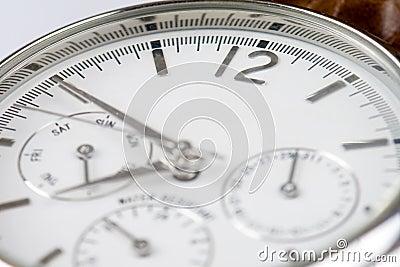 Wrist watch 12 copyspace