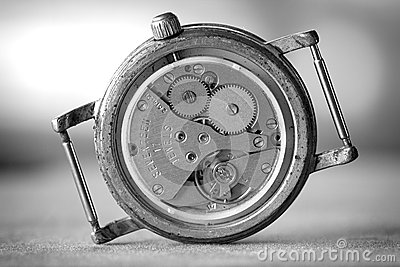 Wristwatch gears