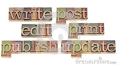 Write, edit, publish, update