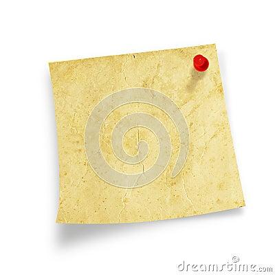 Write note on it!
