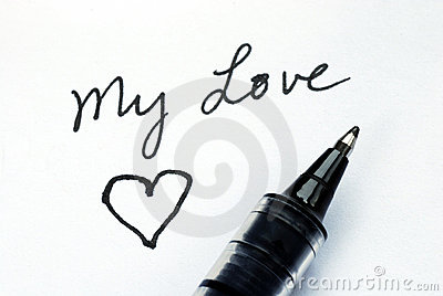 Write to my love one