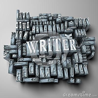 Free Writer Stock Image - 12726801