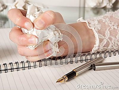 Writer s frustration